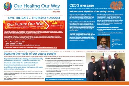 Our Healing Our Way July 2016