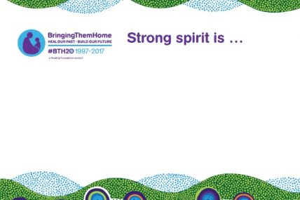 BTH20 Strong Spirit Placard