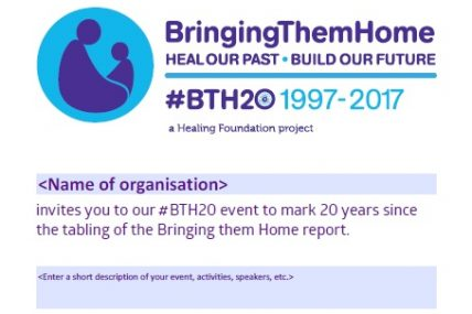 Create your own #BTH20 event poster/flyer