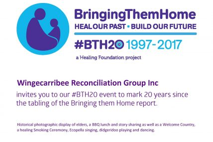 Wingecarribee Reconciliation Group  #BTH20 event