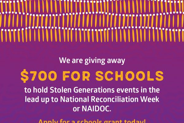New funding for schools to share Stolen Generations history